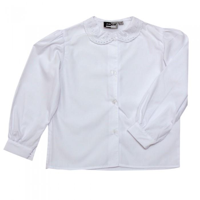 b5a542ae Long Sleeve Lace Collar Blouse - School Uniform 247 | Girls School Uniform  | White